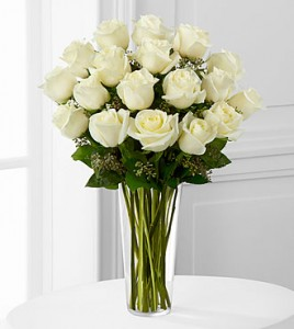 The White Roses Bouquet