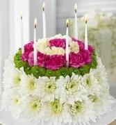 The Wonderful Wishes Flower Cake