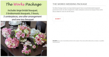 The Works Package Weddings
