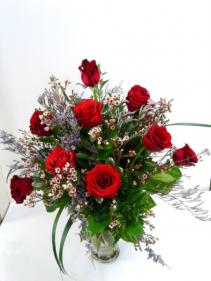 The Works Roses Dozen Very Full