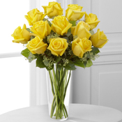 The Yellow Rose Bouquet Bouquet