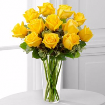 The Yellow Rose Bouquet ROSES