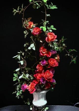 Custom Designed Rose Arrangement