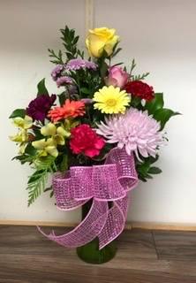 Pick a posie Vase arrangement