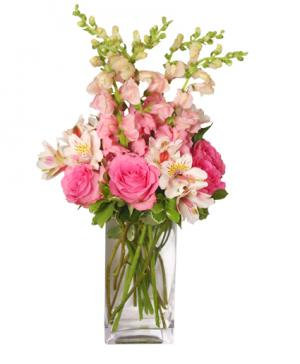 THINK PINK Bouquet in Cloquet, MN | SKUTEVIKS FLORAL