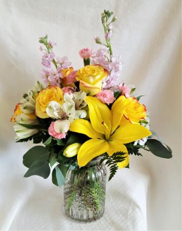 Think Spring Vase