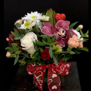 Thinkin' Bout You Cube in Chesterfield, MO | ZENGEL FLOWERS AND GIFTS