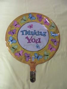 Thinking of You Balloon 1 Mylar Balloon