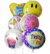 """""""Thinking of You"""" Balloon Bouquet"""