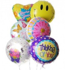 """Thinking of You"" Balloon Bouquet"