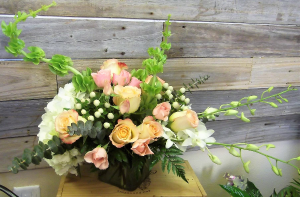Thinking of You Bouquet Container Arrangement in Venice, FL | ALWAYS AN OCCASION FLORIST & DECOR