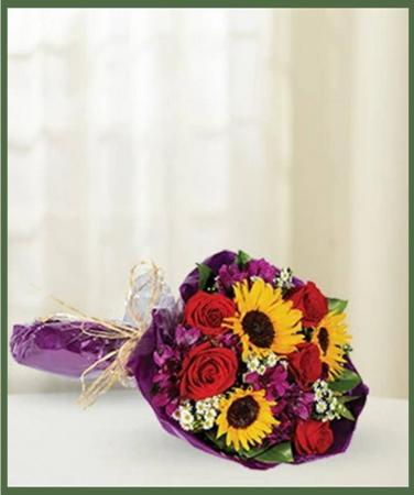 Thinking Of You Hand Tied Bouquet Item #BF261-11KL