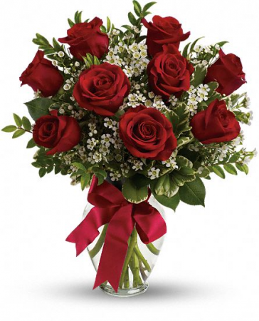 Thinking of You Red roses Bouquet
