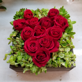 This Hearts for U!!! Fresh Floral Design