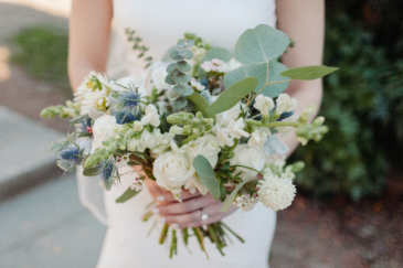 Thistle and Roses Wedding