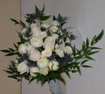 Thistle & Roses Bridal Bouquet