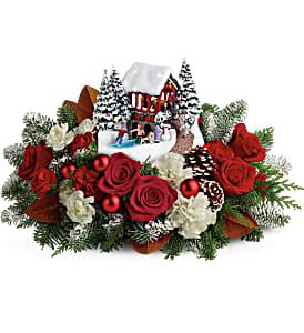 Thomas Kincade Snowfall Dreams Christmas