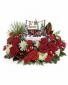 Country Christmas Box Arrangement
