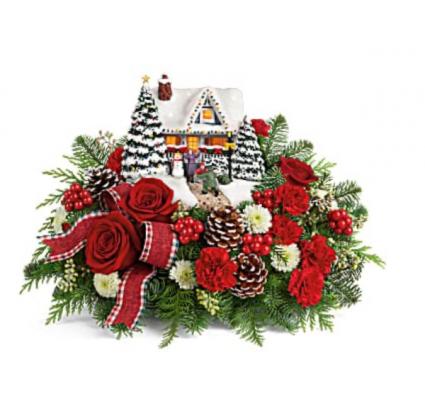 Thomas Kincaid Hero's Welcome  Christmas