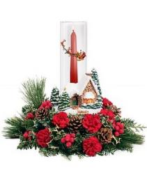 Thomas Kincaid Keepsake LOCAL ONLY Christmas Arrangement