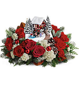 Thomas Kincaid Snowfall Dreams  in Forney, TX | Kim's Creations Flowers, Gifts and More