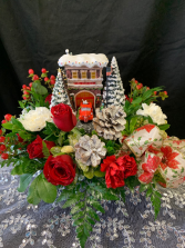 Thomas Kinkade  Centerpiece