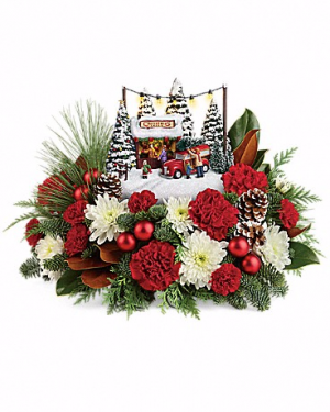 Thomas Kinkade Family Tree  Christmas Keepsake in New Palestine, IN | THE ROSE LADY FLORAL & GIFT SHOPPE