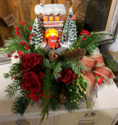 Thomas Kinkade Firehouse Arrangement