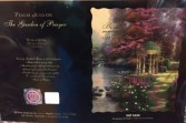 Thomas Kinkade; Garden of Prayer Quiltied Throw