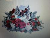 THOMAS KINKADE SNOWFALL DREAMS CHRISTMAS