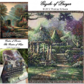 Thomas Kinkade Throws Keepsake Inspirational
