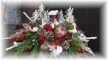 Thomas Kinkade Winters Dream ACF Custom Christmas * Local Only