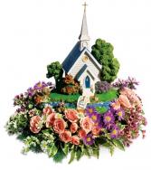 Thomas Kinkade's Chapel Bouquet All-Around Floral Arrangement