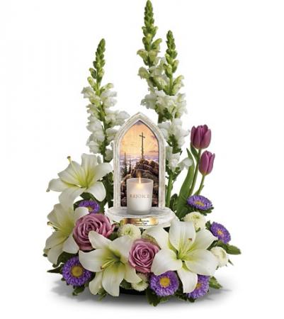 Thomas Kinkade's Easter Joy Flower Arrangement