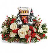 Thomas Kinkade's Hero's Holiday T19X205B Bouquet