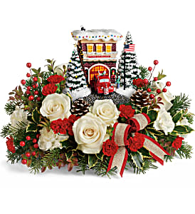 Thomas Kinkade's Hero's Holiday T19X205B Bouquet