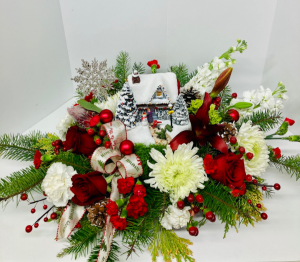 Thomas Kinkade's Hero's Welcome Bouquet 2020  in Liberal, KS | THE FLOWER BASKET