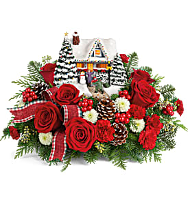Thomas Kinkade's Hero's Welcome Bouquet