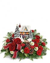 Thomas Kinkade's Hero's Welcome Bouquet Bouquet
