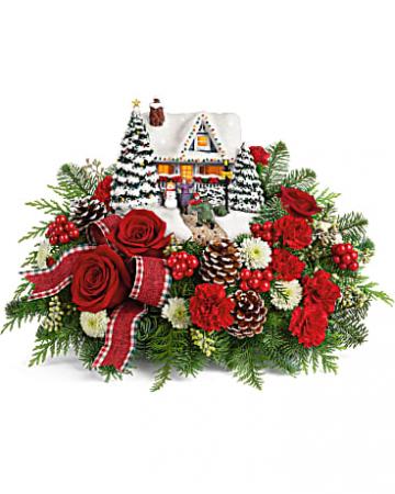 Thomas Kinkade's Hero's Welcome Bouquet   Holiday
