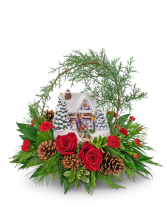 Thomas Kinkade's Hero's Welcome Flower Arrangement