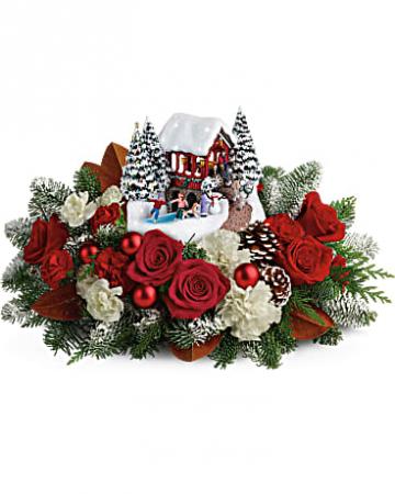 Thomas Kinkade's Snowball Dreams  Bouquet