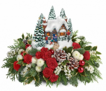 Thomas Kinkaide 2015 Country Christmas Homecoming Arrangement Local Delivery Only