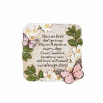 """Those we love"" Butterflies Plaque"