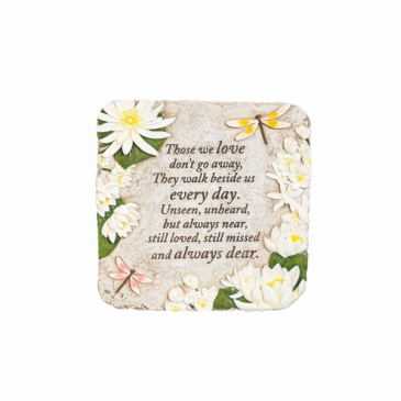 Those We Love Daisy Plaque