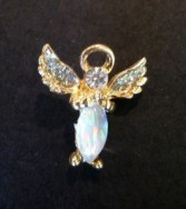 Thoughtful Little Angel Pin Gift