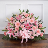 Thoughts & Prayers Pink Funeral Flower Delivery