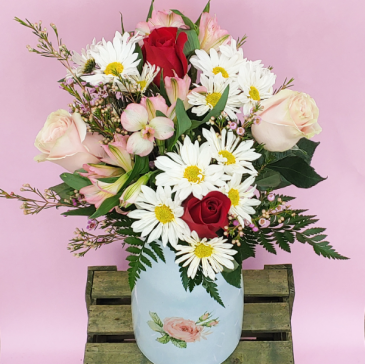 Thoughts of Love Vase Arrangement