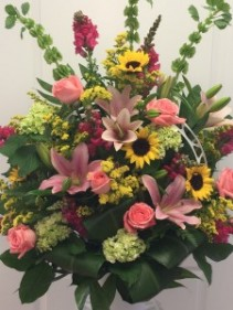 Thoughts & Prayers FUNERAL BASKET