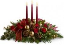 Three Candle Glow Christmas